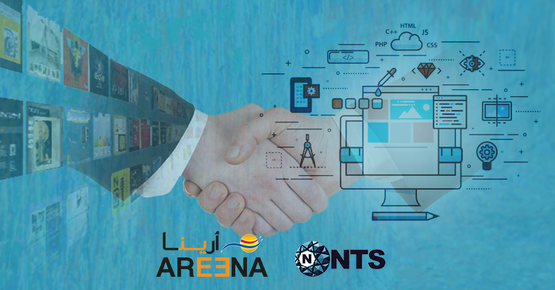 Areena Partners with NTS Oman for Website Design and Development