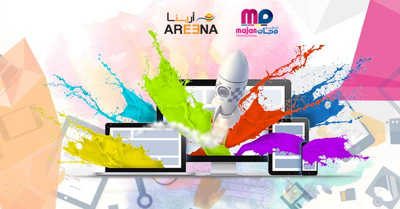 Oman Digital Marketing & Web Development Company Areena Develops a Website for Majan Printing Press